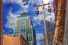 """""""Eastern"""" Time (Michael F. Nyiri) Tags: california urban cityscape southern los angeles city downtown dtla architecture"""