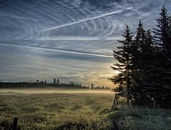 Play Misty For Me - EXPLORED (edmason88) Tags: misty clouds contrails mist clinteastwood strathconacounty alberta