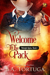 Welcome to the Pack (CoverReveals) Tags: paranormal romance gay glbt shifters bullriders rodeo