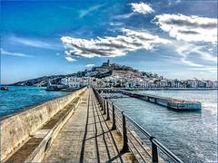Port d'Eivissa, the old town (Bruno Zaffoni) Tags: ibiza spain eivissa europe hdr