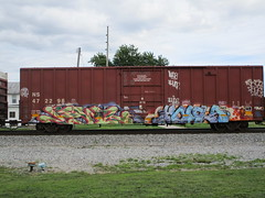 Fowl Houla (Swish 1998) Tags: freight graffiti ohio tfl moms