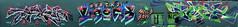 Tacos     Urock    Tick (HBA_JIJO) Tags: streetart urban graffiti ivry ivrysurseine art france hbajijo wall mur painting letters peinture lettrage lettres lettring writer paris94 spray panorama urock tacos tick