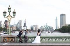Summer Days in London (The Art of Exploring) Tags: westminsterbridge weddingphotoshoot weddingphotography bigben westminster london england uk