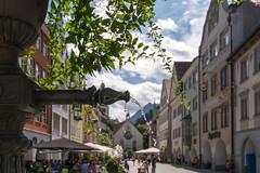 Brunnen in der Altstadt von Feldkirch (thunderbird-72) Tags: austria vorarlberg stadt altstadt sterreich gebude feldkirch at