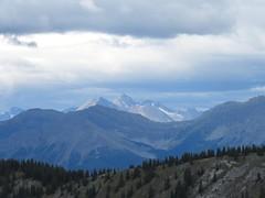 Mt Hood Summit Scramble - The view west from the slopes of Mt Hood, with King Creek Ridge in the foreground (benlarhome) Tags: kananaskis alberta canada mounthood mthood trail trek scramble scrambling path rockies rockymountain mountain gebirge montagne gipfel summit peak