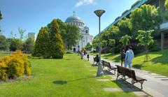 La cathédrale Saint-Sava (Vincent Rowell) Tags: raw tonemapped belgrade serbia church cathedral saintsava balkans2016 sigma816mm hdr