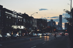Danforth () Tags: danforth broadview east end toronto 2016 evening sunset