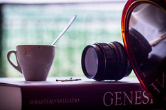 C&G (Giorgini Luca) Tags: genesi salgado book mirror specchio caff coffe zenit lens helios 44m