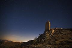 STANDS STILL AT THE IRON HILL (Der_Golem_) Tags: ruinas 2016 ojodepez abandonado solitario vlezrubio linterna almeria xiquena vacaciones nocturna largaexposicion verano lorca