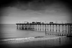 Teignmouth Pier (Richard Reader (luciferscage)) Tags: 2016 devon fuijifilmxt1 fujixt1 september teignmouth pier derelict sea coast seascape