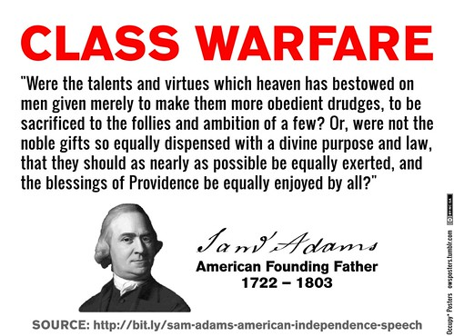 Samuel Adams, Class Warrior