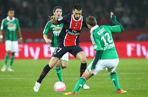 Javier Pastore face à Mignot