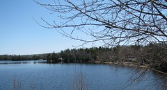 The ice is gone and the move is on .... (fyrrylikka) Tags: blue lake water cottagecountry 2012 icegoneinapril