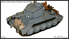 Mark VIII Cromwell Mark VII (A27M) (=DoNe=) Tags: world 2 by viktor model war tank lego homemade british custom done cromwell