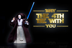 May the Fourth be with you! (DTI15) Tags: starwars may lucas jedi lightsaber obiwankenobi lucasarts jediknight jedimaster may4th bluelightsaber