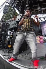 B.o.B at Summer Jam 2012 (davidconger.com) Tags: seattle summer music radio lights live stage amphitheatre performance bob event gorge hiphop rap kube thegorgeamphitheatre kube93 davidcongercom