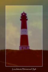 Leuchtturm Hörnum (Matthias Harbers) Tags: light lighthouse tower film lamp rollei zeiss photoshop germany lens island deutschland fire evening abend licht meer kodak slide dia scan 64 insel elements labs dxo kodachrome turm sylt schleswigholstein filmscan topaz abendstimmung contaflex bearbeitet hörnum yabbadabbadoo akvis