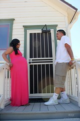 19 (R.E.G. Photography) Tags: park door pink boy arizona baby white house love canon fun happy photography dress glendale pregnant nike maternity saguaro t2i