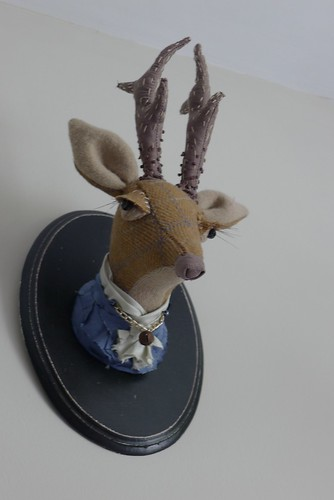 "Deer head. Faux taxidermy. • <a style=""font-size:0.8em;"" href=""http://www.flickr.com/photos/35733879@N02/7208391634/"" target=""_blank"">View on Flickr</a>"