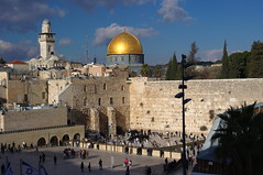 Westen Wall and Dome of the Rock (tttske_C) Tags: israel jerusalem domeoftherock oldcity westernwall