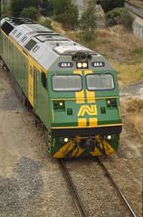 Keswick -  loco AN4 - AN# L-16-23 (ChrisBearADL) Tags: rail australia trains an railways an4 australiannational rpauanclass railpage:class=38 railpage:loco=an4 rpauanclassan4