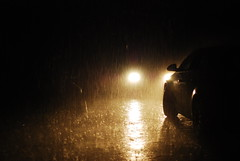 (Ruzic Rados) Tags: light car rain 50mm nikon low dslr 18 hardrain d80