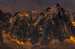 Aiguille de Midi at Sunset (Explored) (sunstormphotography.com) Tags: sunset mountain france cablecar thealps chamonix hdr montblanc alpenglow frenchalps aiguilledemidi polarisingfilter montblancmassif ndgradfilter canon450d canon1585lens larvevalley