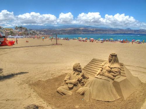 Fotos de La Playa de Las Canteras - Las by El Coleccionista de Instantes, on Flickr