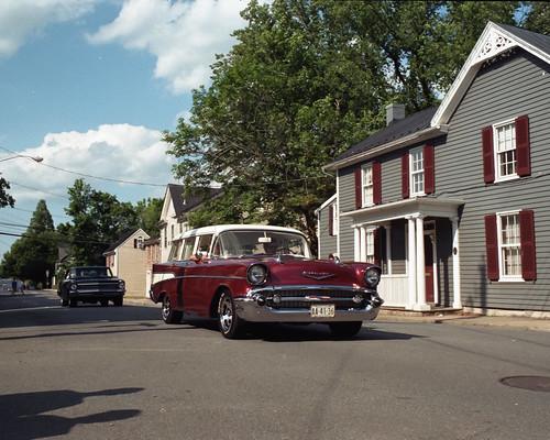 '57 Chevy Wagon, by Reed A. George