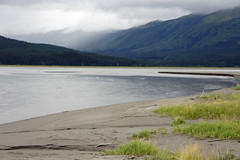To Whittier (Tiigra) Tags: travel sea usa nature rain fog alaska landscape 2011