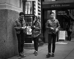 Smokers (bradmo) Tags: street nyc newyorkcity blackandwhite bw newyork chinatown manhattan olympus omd em5