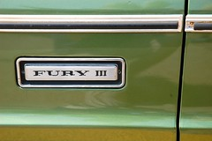 green iii olive plymouth fury