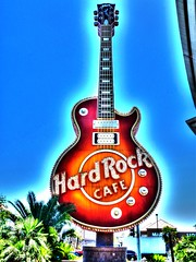 Las Vegas Hard Rock Guitar
