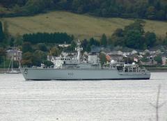 HMS Brocklesby M33 @ Faslane 03-10-10 (AJBC_1) Tags: uk england riverclyde boat ship unitedkingdom military navy vessel m33 warship minesweeper royalnavy mcv britisharmedforces navalvessel minehunter hmsbrocklesby jointwarrior ajc ajc