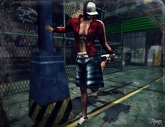 ..:: OUTFIT 16 ::.. (NyTrO StOrE) Tags: street urban woman man store mesh wear clothes hip hop styel nytro
