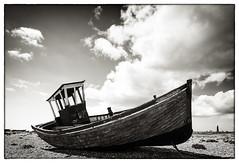 Stranded (Richard Reader (luciferscage)) Tags: camera beach coast kent shingle may dungeness 2012 nikond700 richardreader
