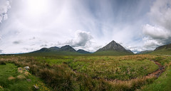 Buachaille Etive Mr (Philipp Klinger Photography) Tags: uk greatbritain blue light shadow sky sun mountain green nature grass rock stone creek landscape scotland highlands nikon stream unitedkingdom britain shepherd hill great halo glen hills highland gb glencoe coe buachaille schottland d800 etive herdsman buachailleetivemr mr greatshepherd greatherdsman nikon1635mmvr exiff80