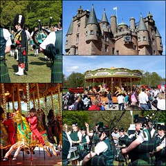 Glamis Castle Diamond Jubilee Gathering. (Kingfisher 24) Tags: collage scotland angus jubilee gathering glamiscastle