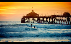 In case you were tired of this pier ... (pixelmama) Tags: california sunset pier waves silhouettes surfing pacificocean surfers imperialbeach brightcolor hss eightdaysaweek radlab thehumanelement chasinglight nikviveza shockingcolor pixelmama sliderssunday getoutyoursunglasses iblovinthispier