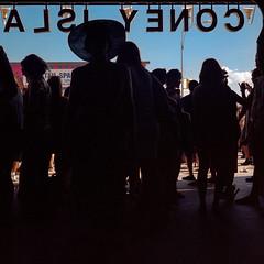 DNALSI YENOC, mermaid edition (Barry Yanowitz) Tags: nyc newyorkcity ny newyork 6x6 film brooklyn mediumformat coneyisland kodak parades parade 120film scanned gothamist filmcamera mermaidparade nycity coneyislandmermaidparade 718 colorfilm kodakportra400 stillwellavenuestation rolleiflexmxevs dnalsiyenoc stillwellavestation mermaidparade2012 mermaidparade30thanniversary