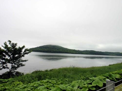 サロマ湖100kmウルトラマラソン〜42.195km過ぎのサロマ湖