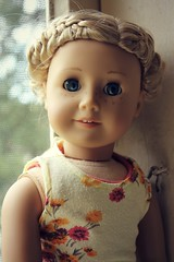 those eyes. (MonChatDansLaLune) Tags: girl doll american kit kittredge monchatdanslalune