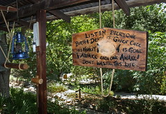 Words of Wisdom (jrtce1) Tags: trees sign relax meditate relaxing zen serene meditation lantern wisdom spa gong handpaintedsign wordsofwisdom zenbuddhist jrtce1 tassajarahotsprings