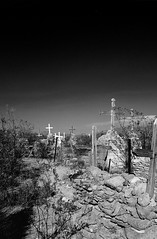 Terlingua Cemetery - Big Bend National Park (Charles Davis Smith - AIA | Photographer) Tags: ruins graveyards westtexas nationalparks riogrande ghosttowns bwlandscapes blackandwhitelandscapes southwestimages desertimages texasarchitecturalphotographers dallasarchitecturalphotographers charlesdavissmithphotographer dallasarchitecturalphotography charlesdavissmithaia charlessmithphotographer charlessmithphotography charlesdavissmitharchitecturalphotographer southwestarchitecturalphotographers unitedstatesarchitecturalphotographers bigbendnationalparkbrewstercountytexas terlinguatexascemetery