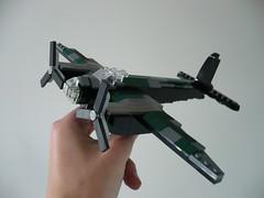 De Havilland Mosquito 1:62 (Rebla) Tags: de lego wwii mosquito ww2 162 havilland