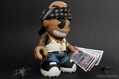 kid_chicano (yo_commandante) Tags: art tattoo toy vinyl mascot kidrobot mexican custom vato arttoy homie chicano commandante cholo
