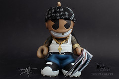 kid_chicano_front (yo_commandante) Tags: art tattoo toy vinyl mascot kidrobot mexican custom vato arttoy homie chicano commandante cholo