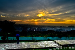 Sunset ( Nana) Tags: life light sunset sky cloud beautiful clouds colorful natural taiwan  taiwan