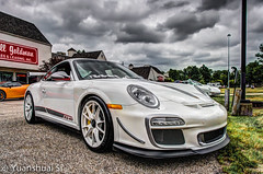 Porsche 911 GT3 RS 4.0/ 911 GT3 RS 4.0 (Yuanshuai(TIM) Si) Tags: show road ohio white cars sports car lens photography angle pentax si cleveland 911 wide super marshall porsche da miles heights edition smc goldman limit luxury hdr k5 gts      warrensville  15mmf4 yuanshuai  dashuai    rs4o