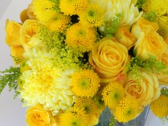 DSCN2270 (AimStudios) Tags: wedding yellow room gray yellowroses 1520 solidago craspedia yellowdahlias yellowsprayroses yellowfootballmums yellowbuttonpompons yellowgardenroses